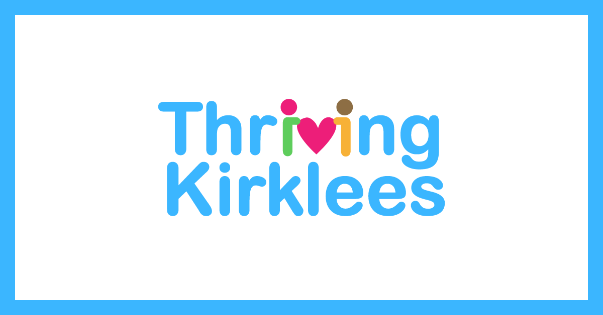 Thriving Kirklees partnership logo - free online courses