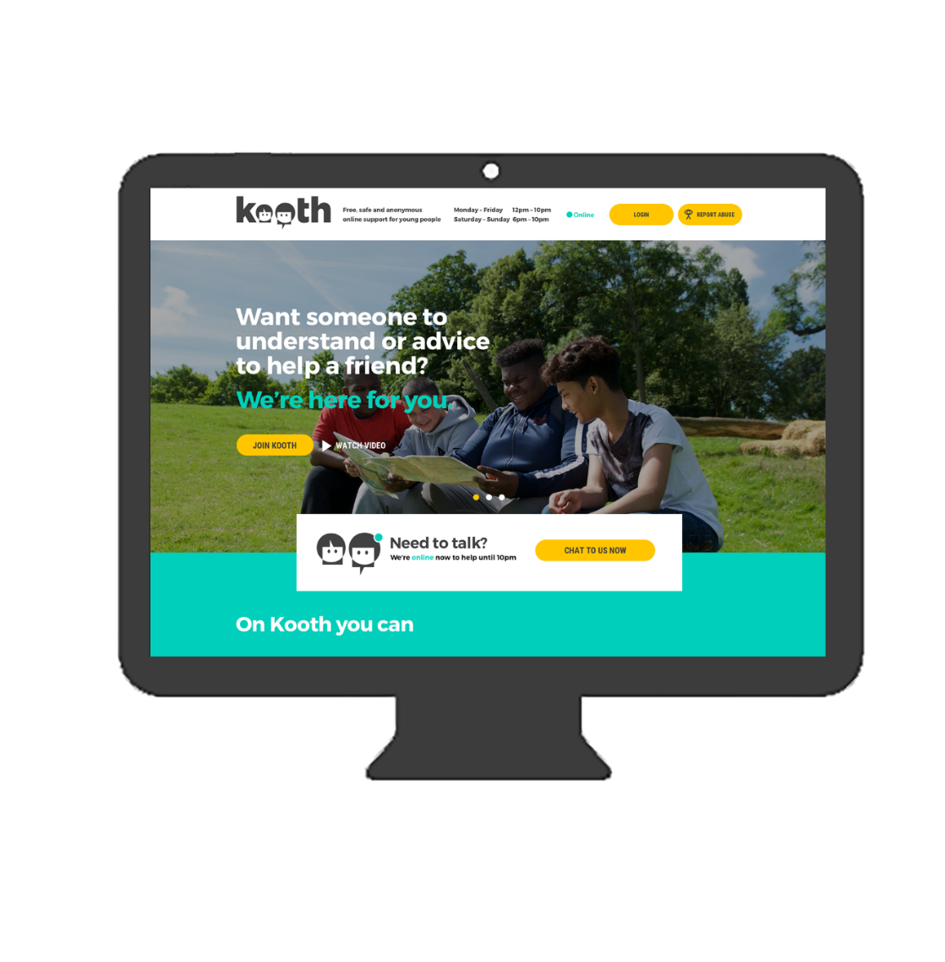 kooth mental health online support
